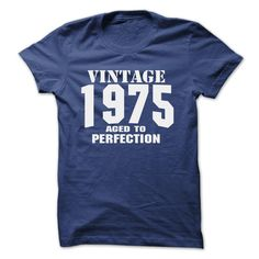 Vintage 1975 Aged to Perfection T Shirt, Hoodie, Sweatshirt