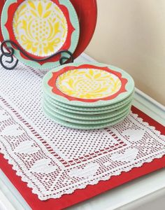 Filet Table Runners | LeisureArts.com