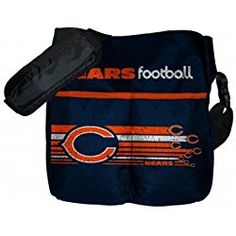 Chicago Bears NFL (Baby Fanatic) Diaper Bag w/ Changing Pad Messenger Diaper Bags, Dad Diaper Bag, Backpack Bags, Chicago Bears Baby, Baby L, Nfl Shop, Baby Nursery Bedding, Changing Pad, Future Baby