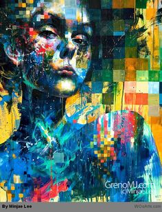 By Artist Painter Minjae Lee 010