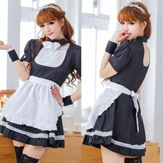 Maid Outfit, Maid Dress, Model Outfits, Cute Girl Outfits, French Maid Lingerie, French Maid Costume, Maid Cosplay, Maid Uniform, Sexy Nurse