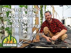 Heres a helpful video to get you thinking about plumbing in your aquaponics system! Thinking about starting your own aquaponics system? Youll need to plumb it in correctly to see maximum yields and grow lots of food. This is the first video in a series on plumbing with aquaponics. Here youll learn two types of tubing essential for affordable...