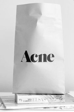 Acne is like art to me, even aesthetic to the smallest detail