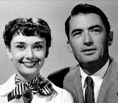 Hepburn and Peck I doubt any actress who wooked with Peck did not enjoy doing so. Golden Age Of Hollywood, Hollywood Glamour, Audrey Hepburn Roman Holiday, Atticus Finch, Gregory Peck, Ideal Man, Gentleman, Love Her, Actresses