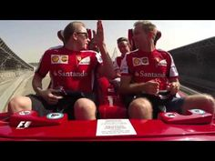 Seb and Kimi Versus the World's Fastest Rollercoaster - YouTube