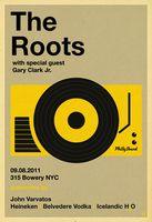 Roots Poster - John Varvatos 315 Bowery, New York City - Scarlet Rowe