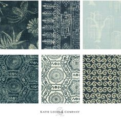 LA-based interior designer, Katie Leede is not only known for creatingbeautifulspaces, but textiles as well