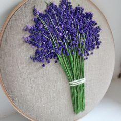 #Панно #лаванда. Сделано на заказ )) # вышивка#французский узелок#цветы#lavender#flower#home#украшениеинтерьера#дом#craft#handmade# #helgas_embroidery