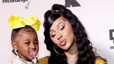 """Cardi B's daughter has entered her """"terrible twos"""" phase.  The 'I Like It' hitmaker has her daughter Kulture Kiari with her husband Offset, and although the tot only celebrated her second birthday last month, Cardi has revealed she's already beginning to throw """"tantrums"""" that have become synonymous with toddlers..."""