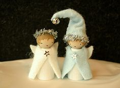 angel gnomes   Johanna Nichols via Sara Adams: ThisMomLoves... onto waldorf
