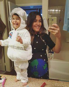 halloween costumes toddler baby pregnant space alien astronaut galaxy stars mama - Aliens Halloween Costume Baby