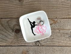 Gift for Dancer Coach Gifts Ballet Dancer Gift Cheer Gifts Grandpa Gifts, Sister Gifts, Mother Gifts, Gifts For Mom, Personalized Rings, Personalized Wedding Gifts, Cheer Gifts, Team Gifts, Monogram Jewelry