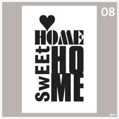Tekstposters-Home sweet home-08