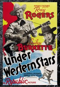 Roy Rogers films inspired by Western skies