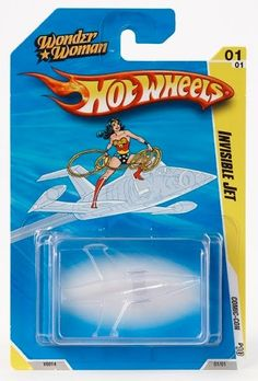 Wonder Woman Hot Wheels Invisible Jet