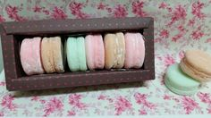 Macarons candy colors