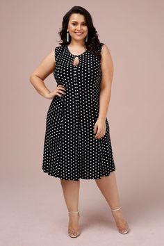 a2beec214 Melhores Modelos de Vestido Plus Size - Você sempre na moda. Vestidos Para  Senhoras GordasRoupas De MulheresVestidos Pretos ...