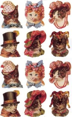 my mom had a ton of these and they were all over my lunch boxes and folders and stuff as a kid. I love them now.