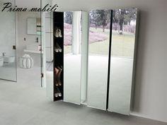 Итальянский зеркальный шкаф Girilla Porada купить в Москве в Prima mobili