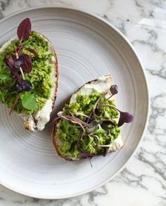 Some things are just better on toast — avocado mash, chocolate-hazelnut spread, ricotta and honey, to name a few of my favorites. But, this pea-and-mint pesto recipe may just take the cake.