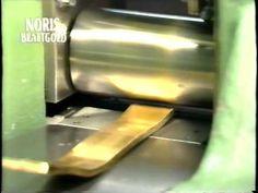 Производство сусального золота Норис - YouTube