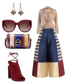 Untitled #3 by emihox79 on Polyvore featuring polyvore fashion style Kenneth Cole Tory Burch Yves Saint Laurent clothing
