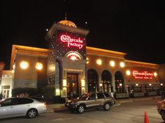 The Cheesecake Factory at Crabtree Valley Mall in Raleigh, NC