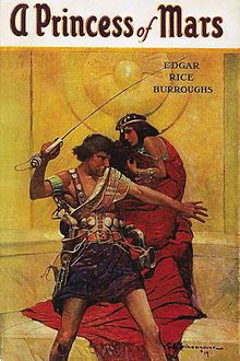 The book behind the John Carter movie.  I haven't seen the movie yet, but the book was really interesting.