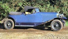 1925 Hispano-Suiza H6B Dual-Cowl Boattail Touring Car
