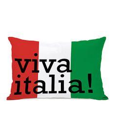 d6d187d5f3b Loving this  Viva Italia  Throw Pillow on  zulily!  zulilyfinds Throw  Pillows.