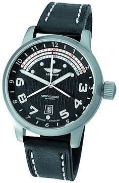 pretty nice c2992 a673e Aviator Men s Automatic Strap Russian Watch 2824-2 2915489