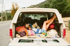 Barrington Blue everything [love the idea of car camping or setting up a mobile lounge in the back of an old truck] Adventure Awaits, Adventure Travel, Glamping, Road Trippin, Adventure Is Out There, Oh The Places You'll Go, Van Life, The Great Outdoors, Summer Fun