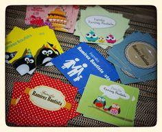 Tarjetas para regalos familiares