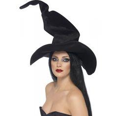 Sombrero de bruja alto y ondulante 7,99 €