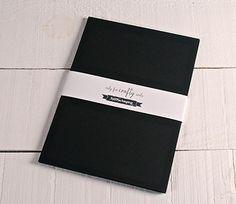 Papier noir cartonné A4 N.3