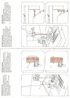Bedienungsanleitung Pfaff Hobbymatic 803 (Seite 1/13) (1