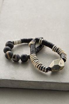 Pyrite Bracelet Set - #anthroregistry