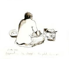 Carnet de voyage au Ladakh - Delphine Priollaud-Stoclet