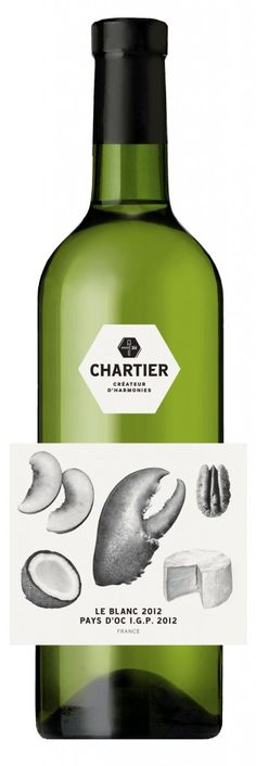 It goes well with this....Cuvée Chartier white PD vinos maximum taninotanino