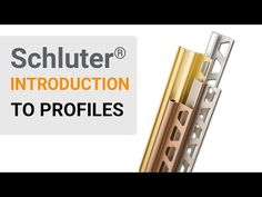 Schluter edge options for floors, countertops, backsplashes, showers, and more! Shower Pan, Shower Kits, Schluter Tile Edge, Countertop Backsplash, Classic Baths, Architectural Materials, Wall Trim, Decorative Borders, Tile Installation