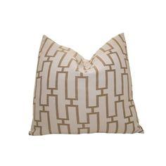 Nena Von. Links Pillow in Taupe