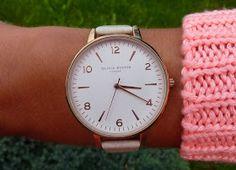 New Arm Candy... Olivia Burton Big Dial Rose Gold Watch!