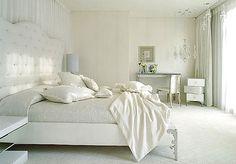 décoration chambre adulte blanc