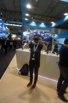 #Alcatel #MWC16 Lentes de realidad virtual #IDOL4