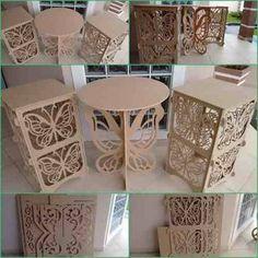 Resultado de imagen para mesa de borboletas