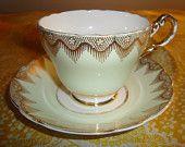 """Regency """"Vanessa"""" Tea Cup and Saucer"""