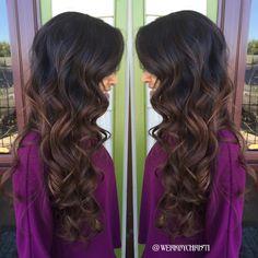 Fall hair. Balayage Ombre. Chocolate balayage . Fall haircolor. Hairstyles