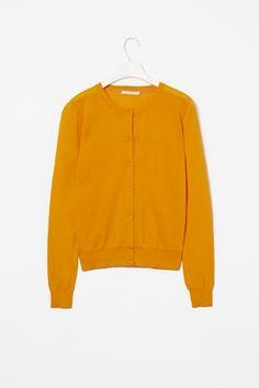 tangerine cardigan
