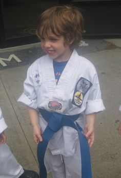 TKD puts my parenting to the test.