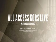 Watch #AllAccessKors LIVE with us today at 10 AM EST!